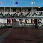 Natchez Steamboat Boat Front View