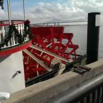 Natchez Steamboat Paddle 2