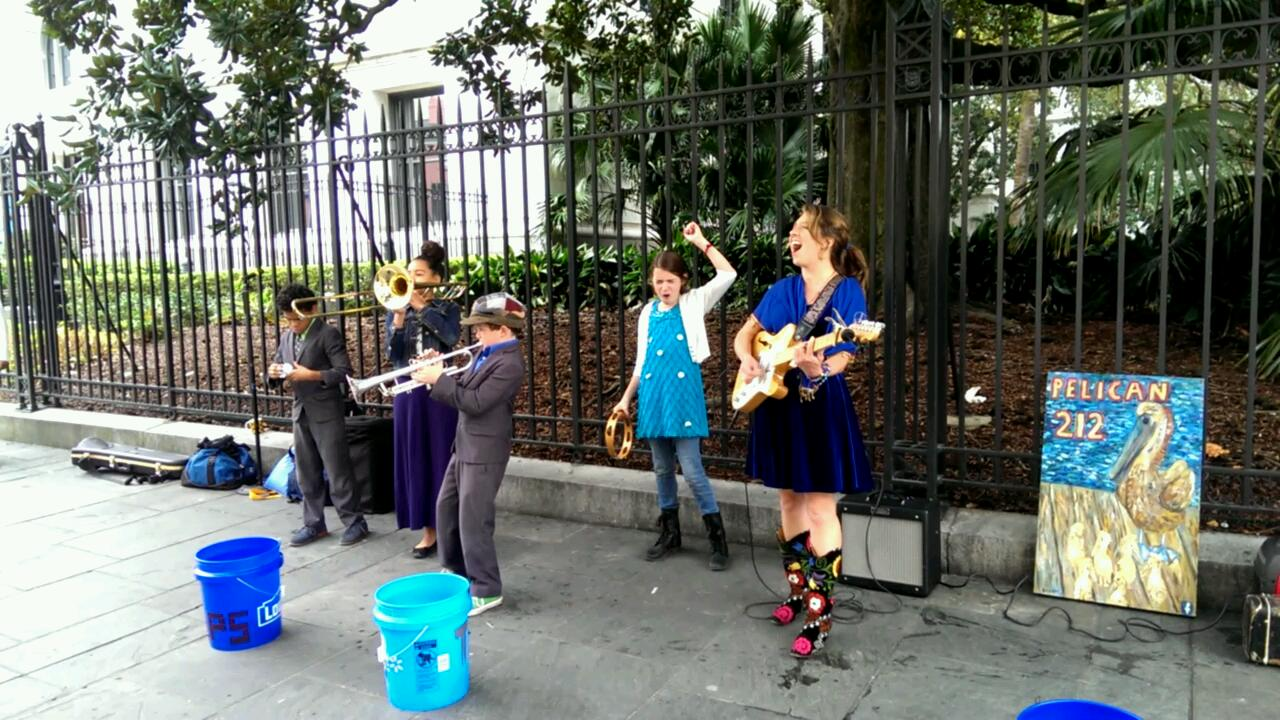 Random Acts of Music: Kids Rule the Quarter!