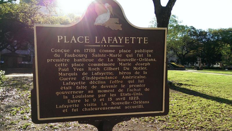 Lafayette Square Surprise