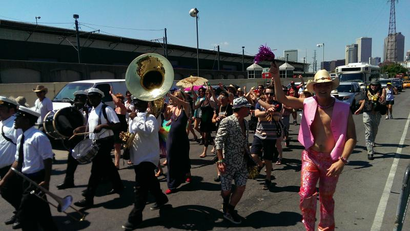 Random Acts of Music: Second Line Parade